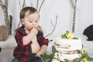 smash the cake fotografia