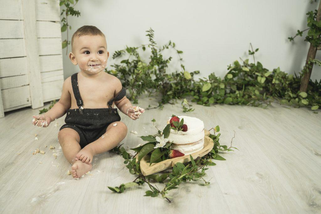 reportaje smash cake Lleida